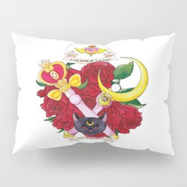 In the Name of the Moon I Will Punish You Pillow Sham