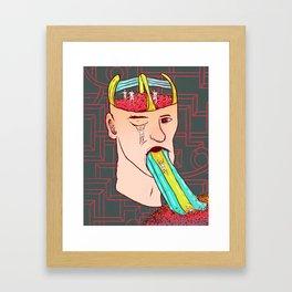 A child's mind Framed Art Print