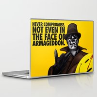 rorschach Laptop & iPad Skins featuring Rorschach by joogz