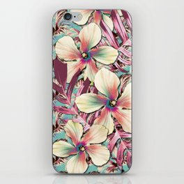 Vintage Hibiscus Ohana iPhone Skin