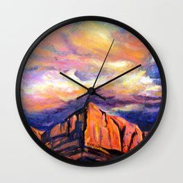 Channeling Georgia Wall Clock