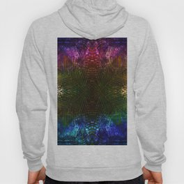 abstract fern Hoody