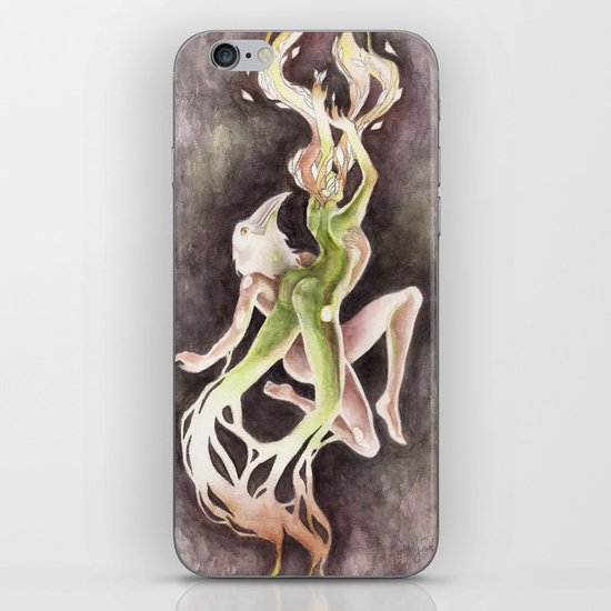 If you can't be my wife, you shall be my tree (Apollo & Daphne) iPhone & iPod Skin