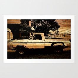 Jesse's Truck Art Print