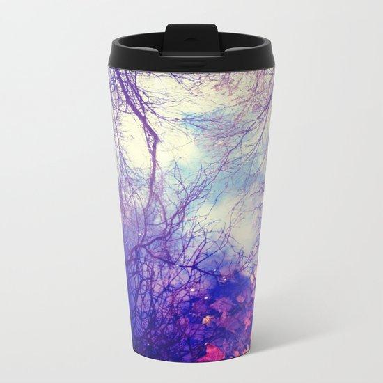 Winter Reflection Metal Travel Mug
