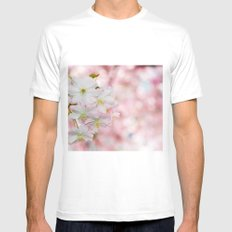 finest spring time White Mens Fitted Tee MEDIUM