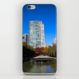 trees to breathe in the city iPhone Skin