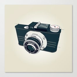 Argus Camera Canvas Print