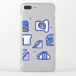 Sandwiches Clear iPhone Case