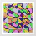 Pastel Pieces by printpix