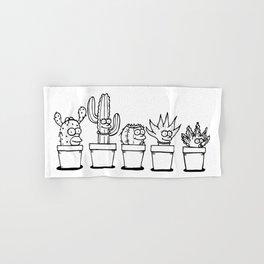 The Succulents Hand & Bath Towel