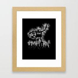Robo Smash Framed Art Print