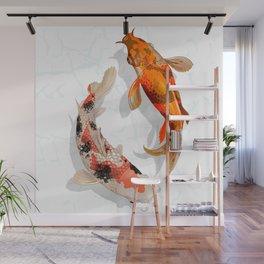 3D design fish Wall Mural