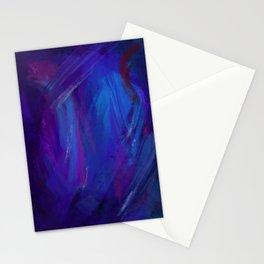 Linea blu - E' notte Stationery Cards