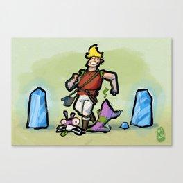 Use Verb on Noun #4: Torin's Passage Canvas Print