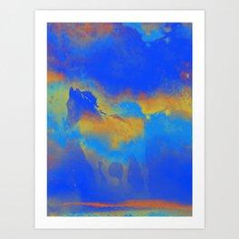 Spark Art Print