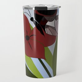 Chaos within. Butterly. Travel Mug