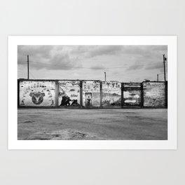 Palestine, Texas, 2013 Art Print