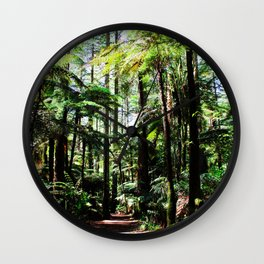 In the forest Wall Clock