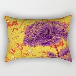 floral chinoiserie Rectangular Pillow