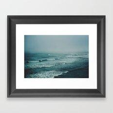 Across the Atlantic Framed Art Print