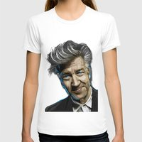 lynch T-shirts featuring DAVID LYNCH by AMBIDEXTROUS™