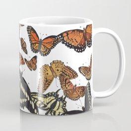 Butterflies of Maine Chart Coffee Mug