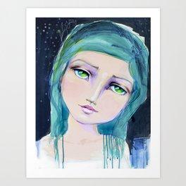 Dreamer by Jane Davenport Art Print