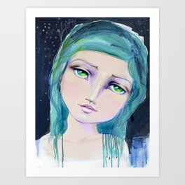 Dreamer by Jane Davenport Art Print
