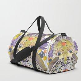 Fish ? Bird ? Weird creature for sure ! Duffle Bag