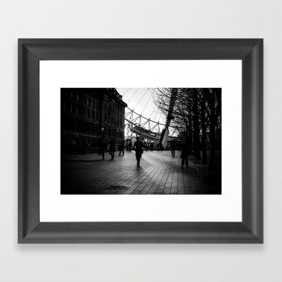 Shadow Walker Framed Art Print
