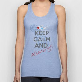 Allons-y! Unisex Tank Top