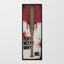 Eeny Meeny Miny Mo - Ode to Lucille Canvas Print