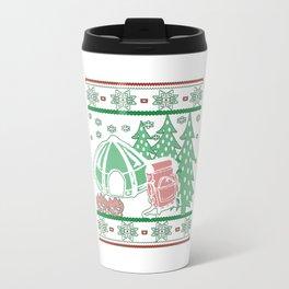 Camping Christmas Travel Mug