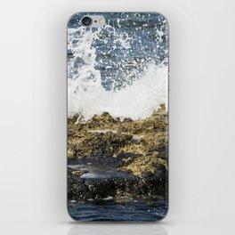 beach abstract iPhone Skin