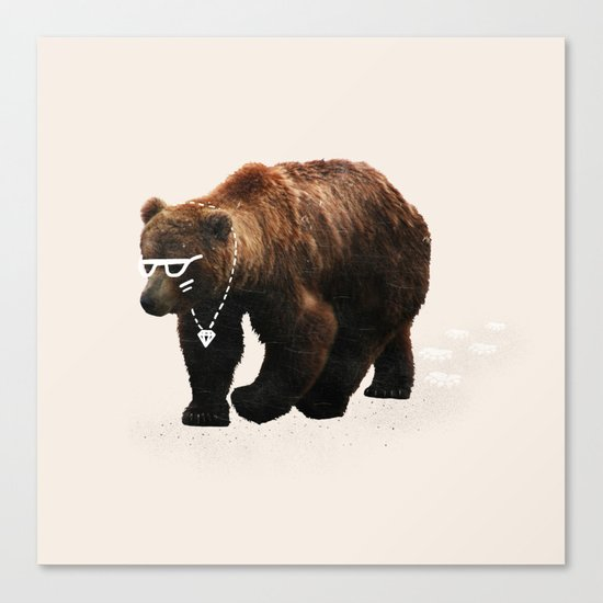 Kodiak Arrest Canvas Print