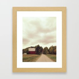 Weston Framed Art Print