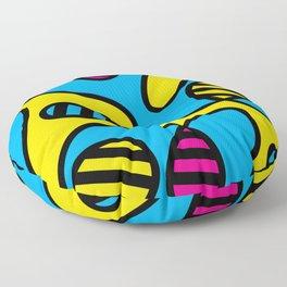 CMYBees Floor Pillow