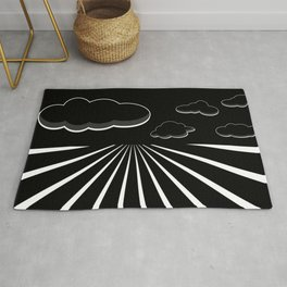 Dark Sky on the Horizon Rug