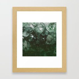 Emerald Gem Framed Art Print