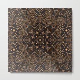 Mandala Collection Metal Print
