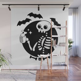 Death Before Decaf Wall Mural
