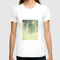 lime T-shirts featuring lime leaves by PaulaPanther
