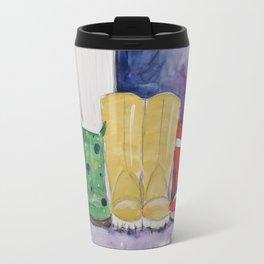 Rainboots Travel Mug