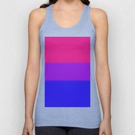 Bisexual Pride Flag v2 Unisex Tank Top