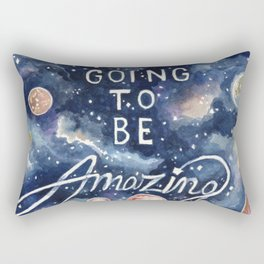you're going to be amazing Rectangular Pillow