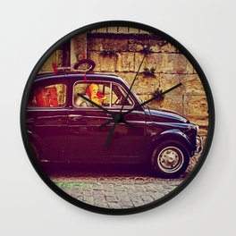 Red Rider Wall Clock