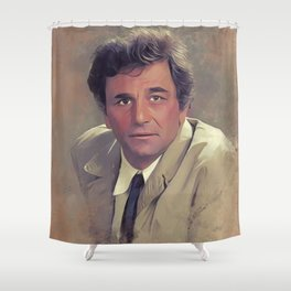 Peter Falk, Actor Shower Curtain