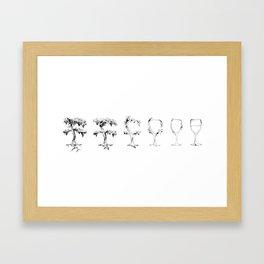 A Vine in Time Framed Art Print