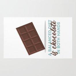 Balanced Diet Chocolate Lover Sweet Love Rug